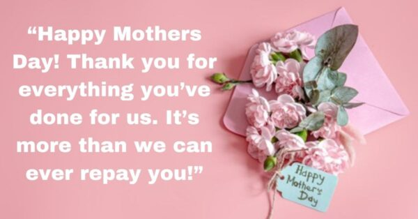 Let's Say Happy Mother's Day