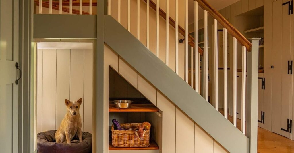Awesome Under Stair pet  House Ideas
