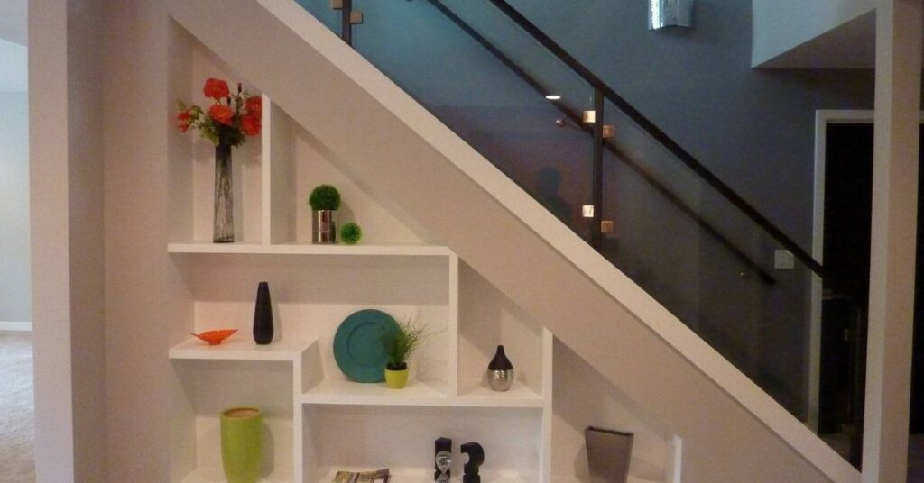 How to Make a Mini Library in Your Stairs