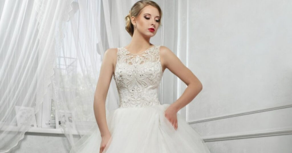 Your Authority With A Wedding Dress